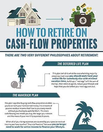 Maverick InfoGraphic: How to Retire on Cash-Flow Properties ...